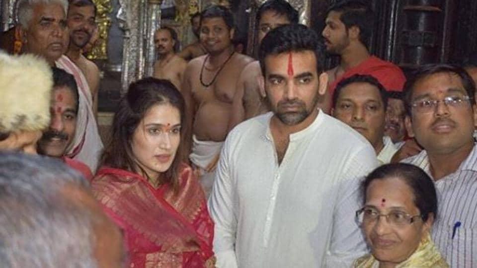 Sagarika Ghatge and Zaheer Khan got married on November 23, 2017.