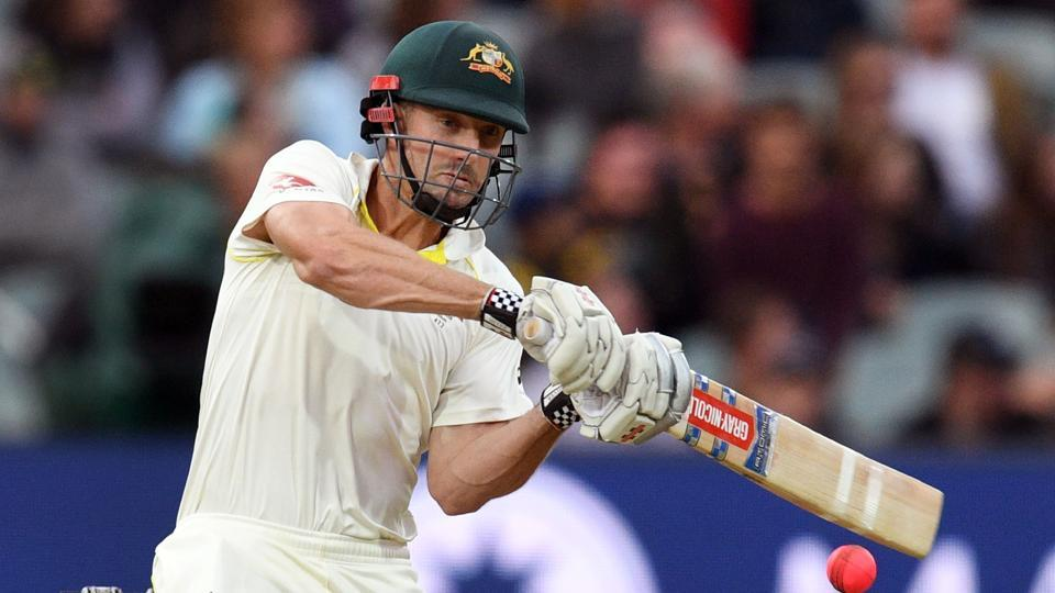 Shaun Marsh's century put Australia in a commanding position in the second Ashes Test.