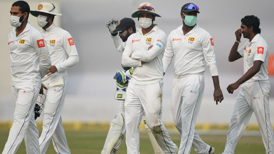 Four Sri Lanka players reportedly vomitted, causing concern in the visitors' dressing room.  (AFP)