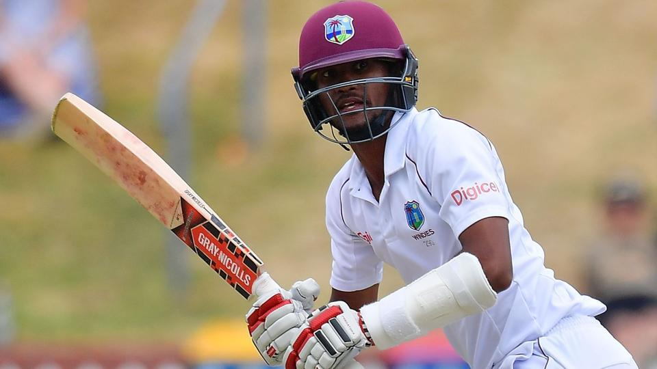 Kraigg Brathwaite,West Indies vs New Zealand,Wellington