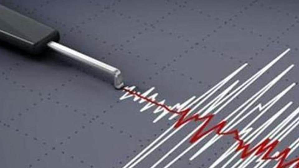 The quake, which was deep at 110 kilometers (68 miles), struck at 10:06 p.m. local time Saturday.
