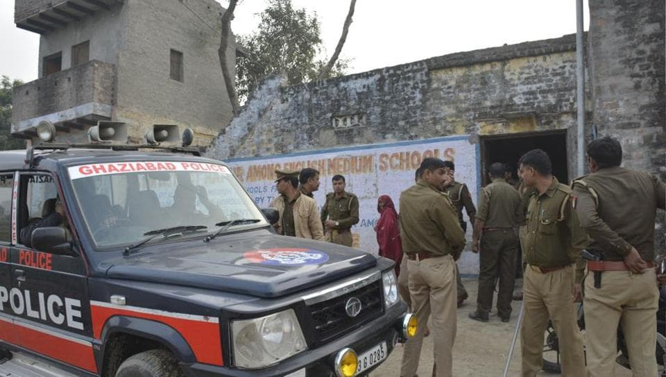 Angry villagers in Nahali, Ghaziabad, attacked a team of NIA and police officials when they arrived on Sunday morning to arrest suspect Malook.