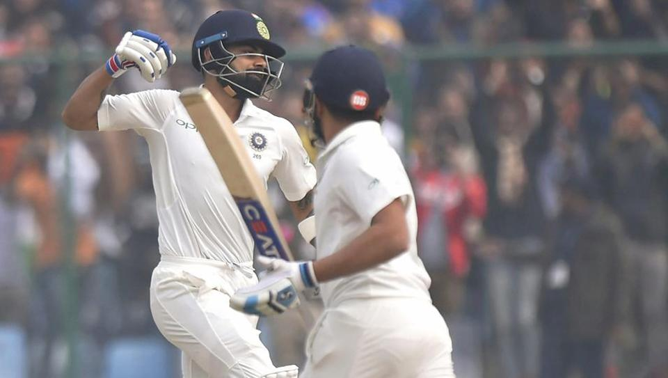 Kohli also surpassed his career-best score of 235 in the course of the match. (PTI)