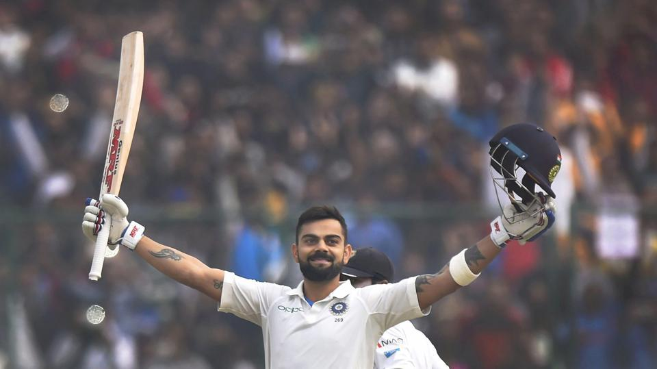 Kohli looked set for a triple century but it was not to be.  (PTI)