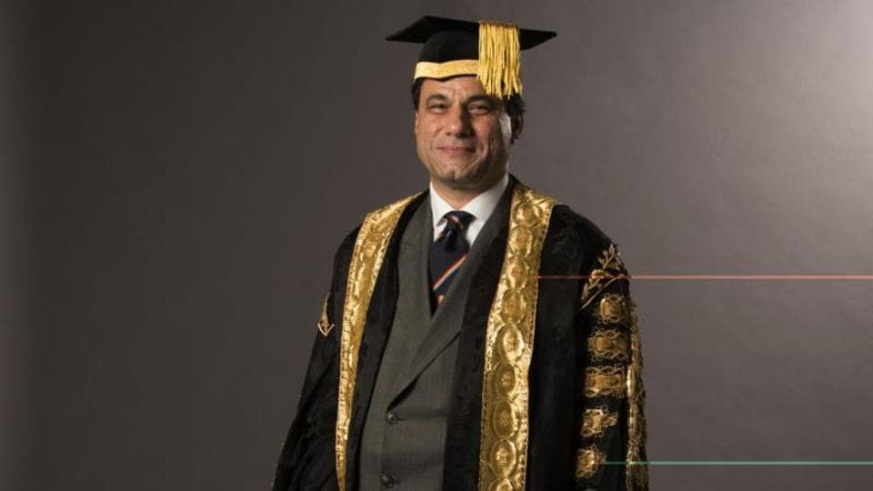 A member of the House of Lords, Bilimoria, 56, was conferred the doctorate this week by the University of Westminster.