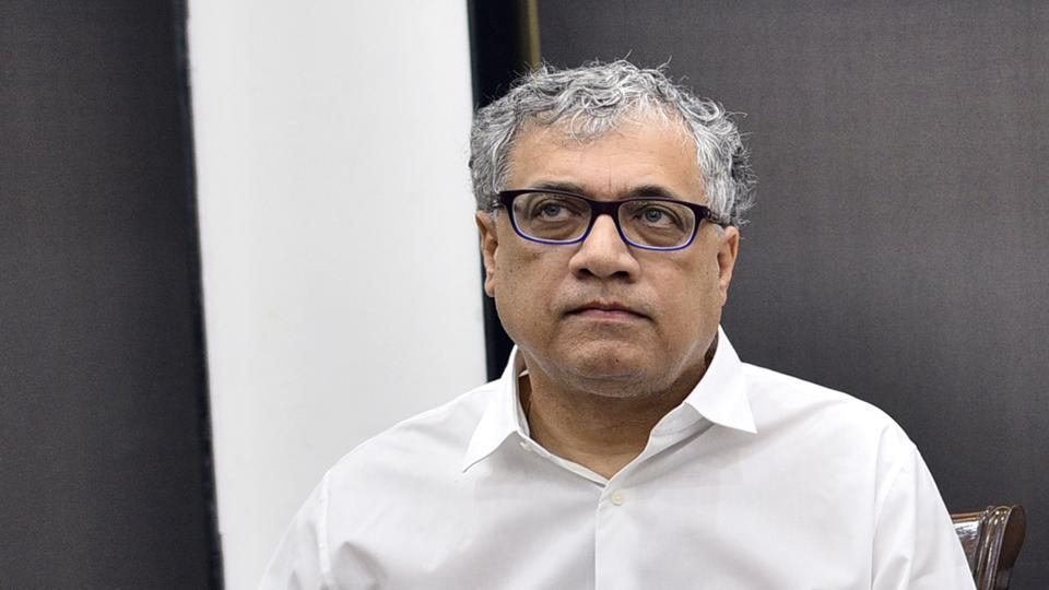 TMC's Derek O'Brien during a press conference at speakers hall, Constitution Club, in New Delhi on  October 24.