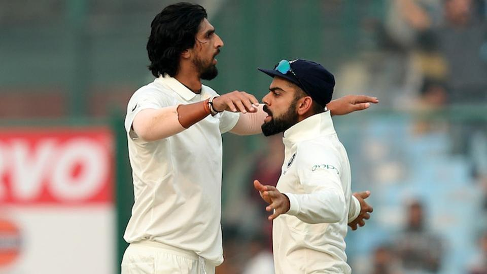 Ishant Sharma, Mohammed Shami and Ravindra Jadeja also picked up two wickets each. As a result, Sri Lanka, from 317/4, were reduced to 343/9. (BCCI)