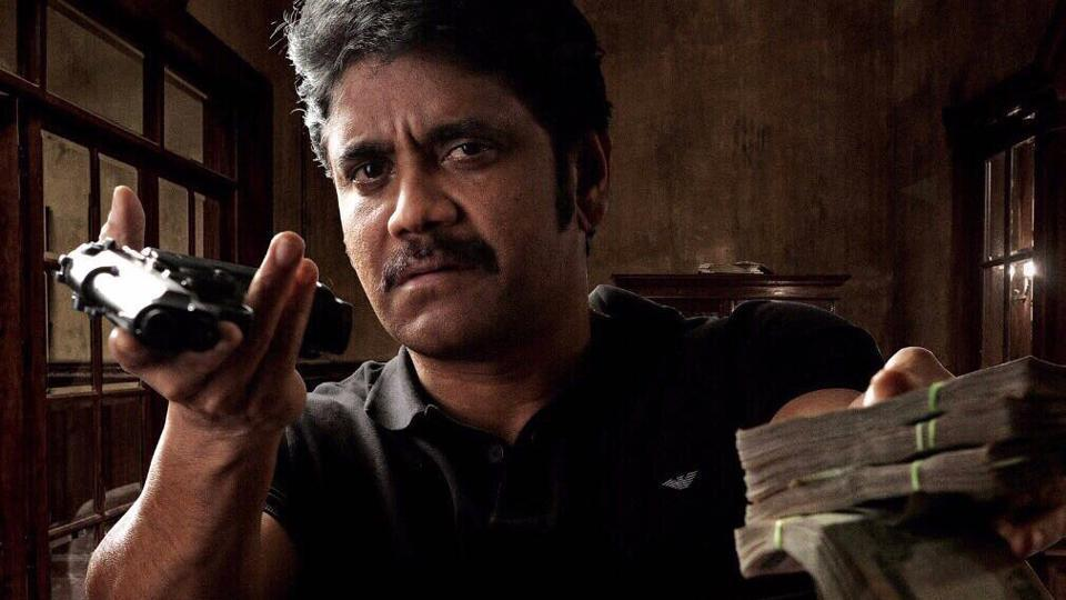 Nagarjuna in a still from the untitled film.