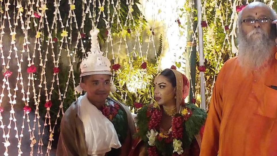 Sunil Chhetri tied the knot with long-time girlfriend Sonam Bhattacharya in Kolkata