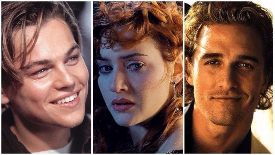 Matthew McConaughey,Kate Winslet,Titanic