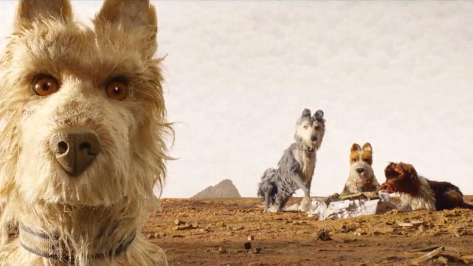 Isle of Dogs is Wes Anderson's second animated film, after Fantastic Mr Fox.