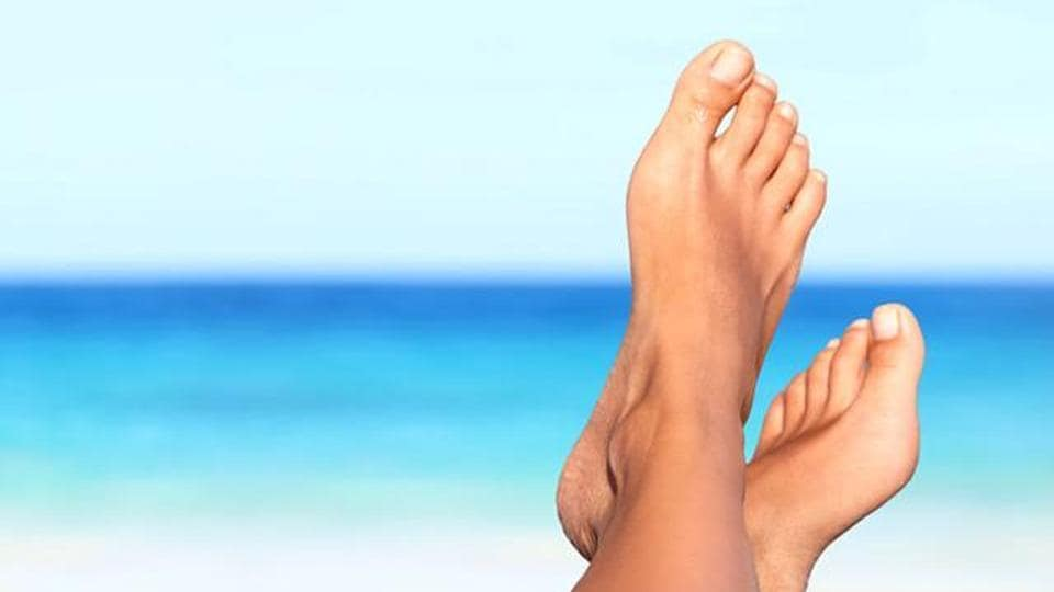 Foot massage,Feet care,Skin care