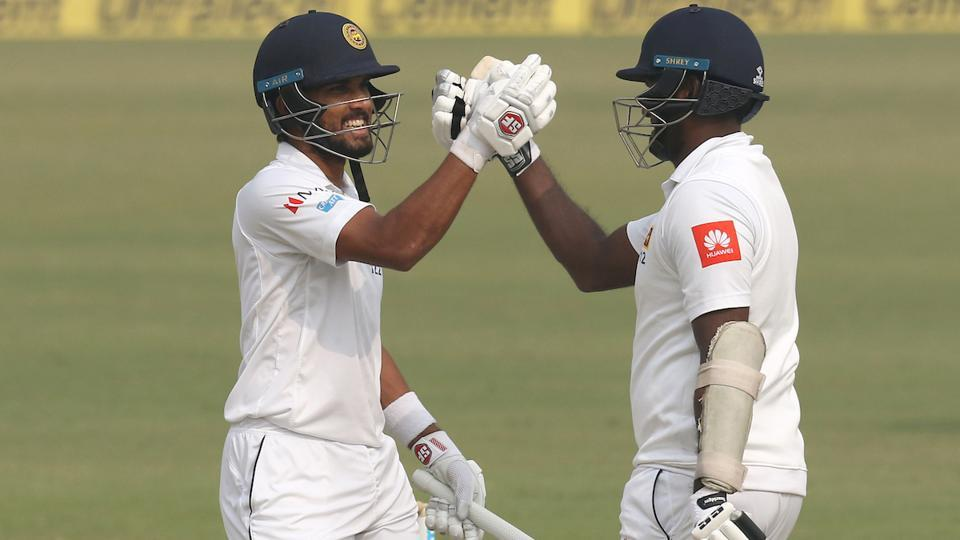 The duo together hit 32 boundaries and three sixes and made sure Sri Lanka managed to avoid the follow-on. (BCCI)