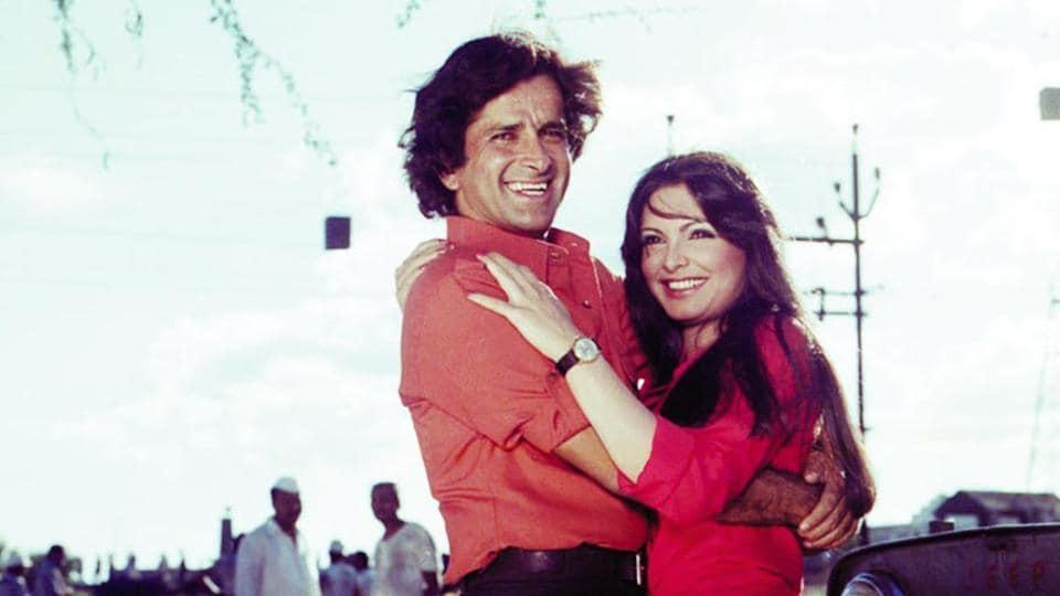 Shashi Kapoor and Parveen Babi from Kaala Patthar.