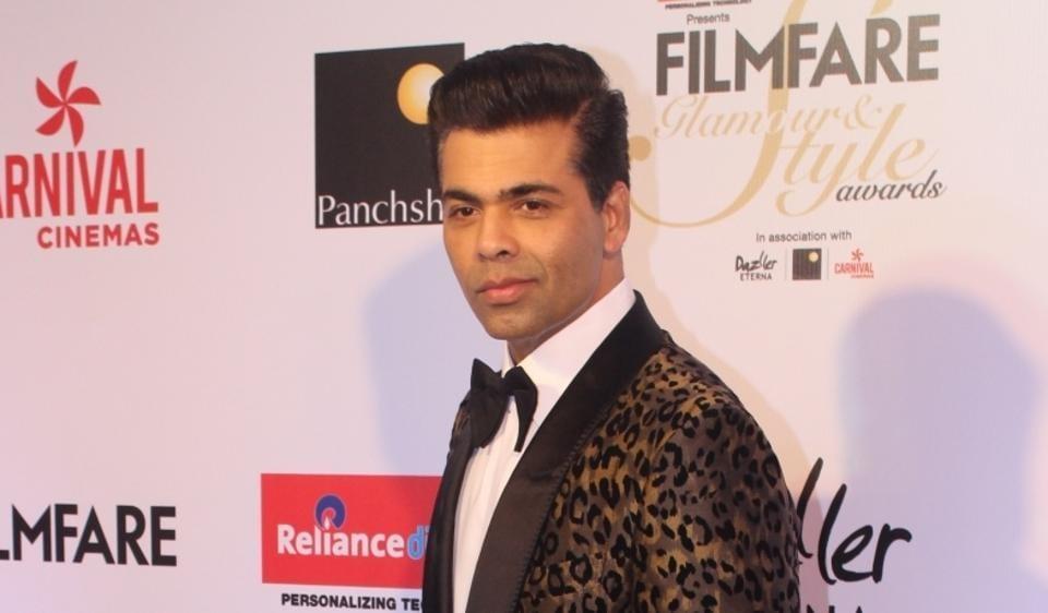 Karan Johar,Karan Johar item number,Karan Johar stalking in films