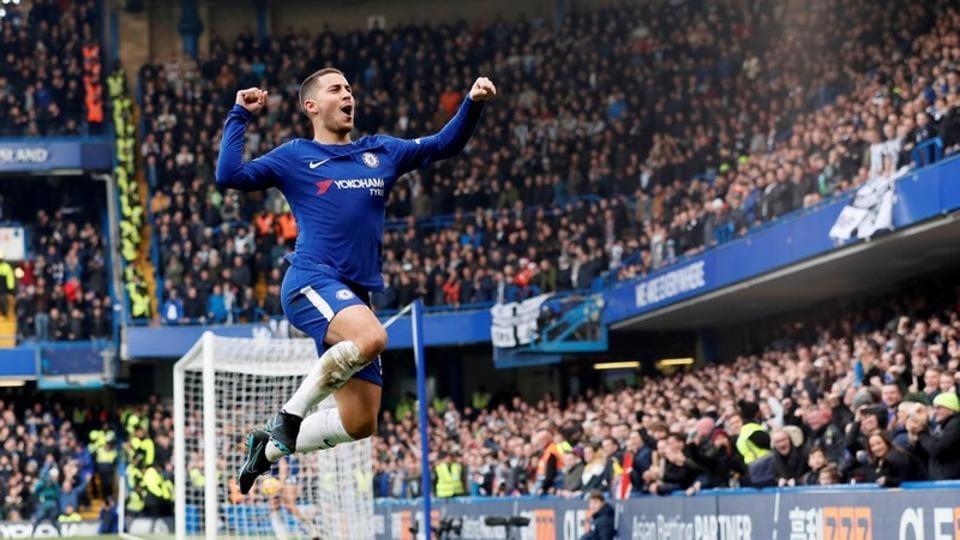 Antonio Conte,Eden Hazard,Chelsea FC