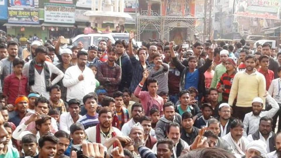 WhatsApp message,communal tension,five arrested