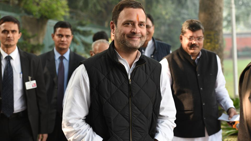 Rahul Gandhi, who filed the nomination for Congress president's post on Monday, is driving the party's campaign in Gujarat.