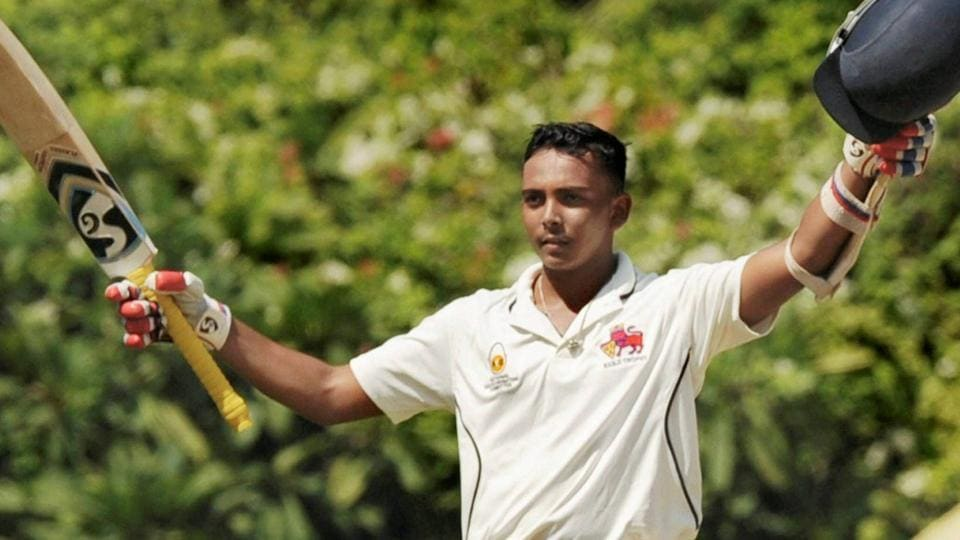 Mumbai's Prithvi Shaw was named India captain for the ICCUnder-19 World Cup to be held in New Zealand from January 13 to February 2, 2018.