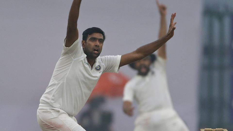 Ravichandran Ashwin became the joint-highest wicket-taker in Tests with his haul of 3/90 as Sri Lanka fought hard against India thanks to centuries from Angelo Mathews and Dinesh Chandimal.