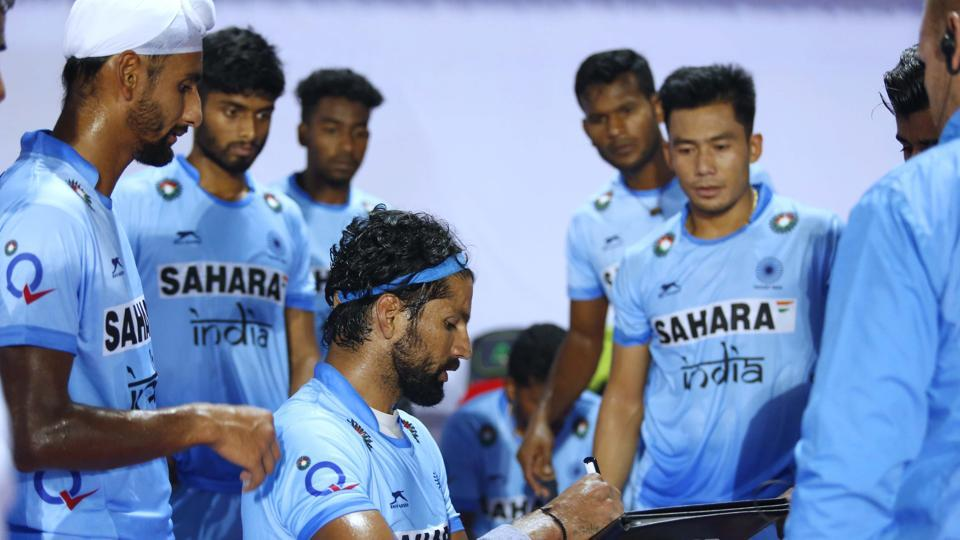 Hockey World League Final,HWL 2017,Indian men's hockey team