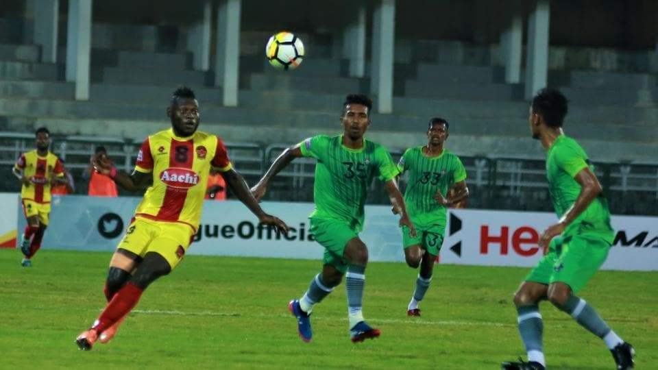 Gokulam Kerala FC are now in seventh spot in the I-League table after drawing their game with Chennai City FC.