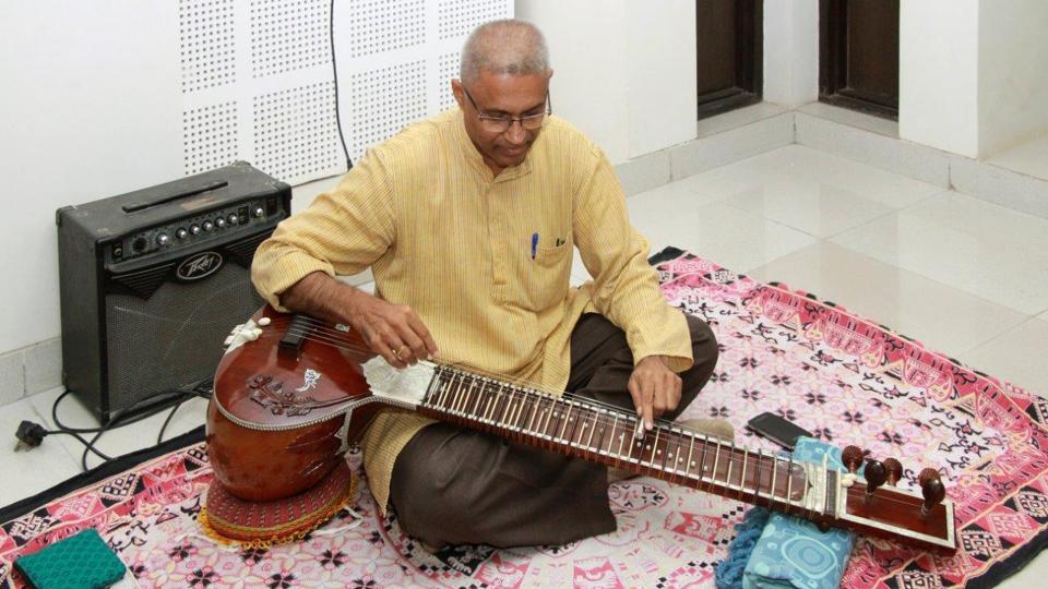 bharat veena,ancient theory of music,ocataves