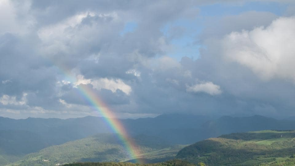 The rainbow in Taiwan is likely to shatter the previous record for the longest-lasting rainbow, set in Yorkshire, England, on March 14, 1994, which was recorded as lasting six hours.