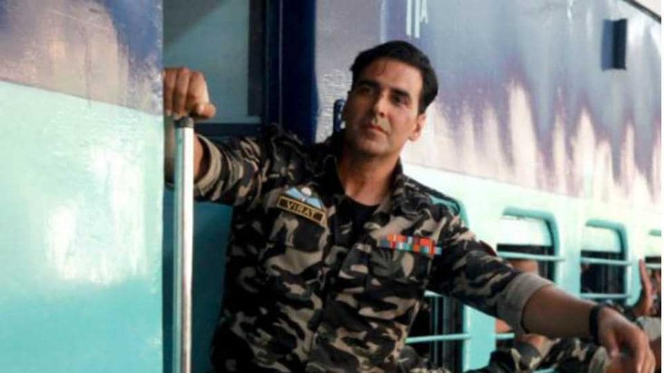 Akshay Kumar's father was in the army, and he, too, wanted to join