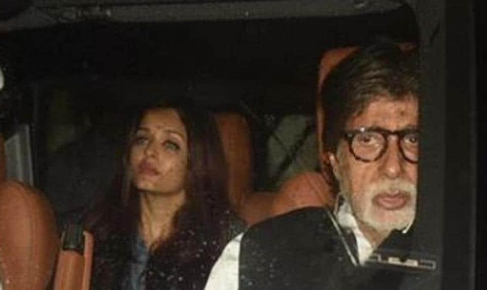 Shashi Kapoor,Amitabh Bachchan,Aishwarya Rai