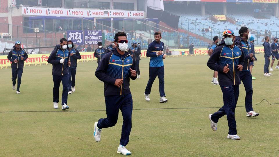 Delhi pollution,pollution,Sri Lankan cricket team