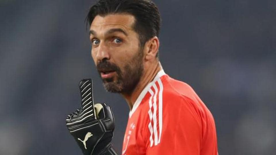 Gianluigi Buffon may not play for Juventus against Olympiakos in an UEFA Champions League group D match.
