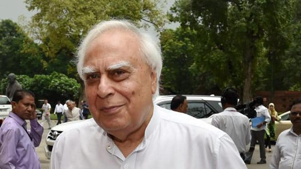Congress leader Kapil Sibal, who as the counsel for the Sunni Waqf Board in the Supreme Court, sought deferment of the Ayodhya case until after 2019 Lok Sabha polls.