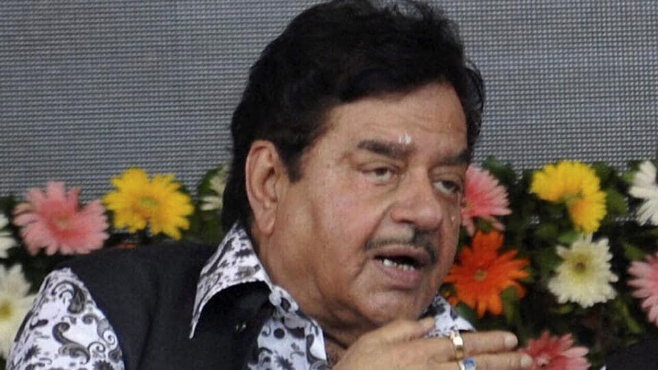 Bharatiya Janata Party MP Shatrughan Sinha.
