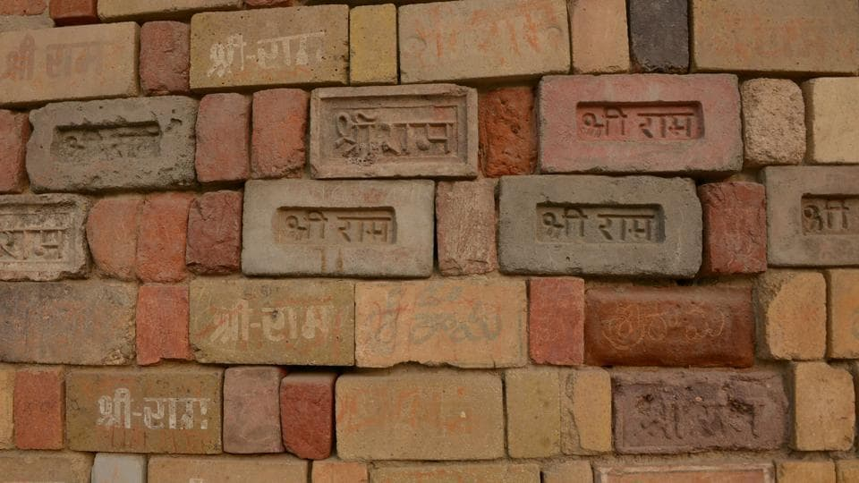The VHP has been collecting bricks at its workshop in Ayodhya. SC said it will hear the final case on February 8 next year.