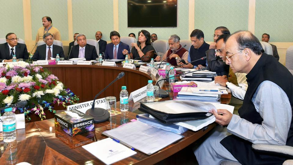 Union finance and corporate affairs minister Arun Jaitley chairs the 3rd meeting of Pre-Budget Consultative Committee with stakeholders groups from industry and trade in connection with the forthcoming Union Budget 2018-19 in New Delhi on Wednesday.