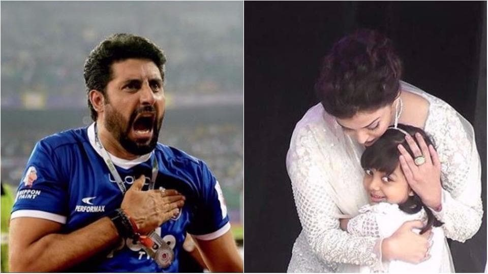 Abhishek Bachchan chose wit over anger when he replied to a rude woman's remark about his daughter.
