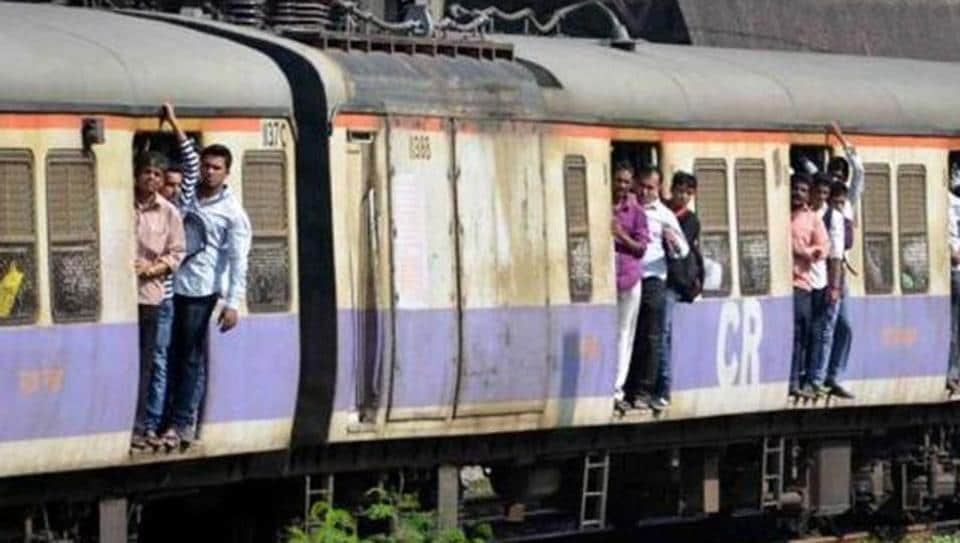 Commuters spotted the smoke after the train pulled out of Thane station.