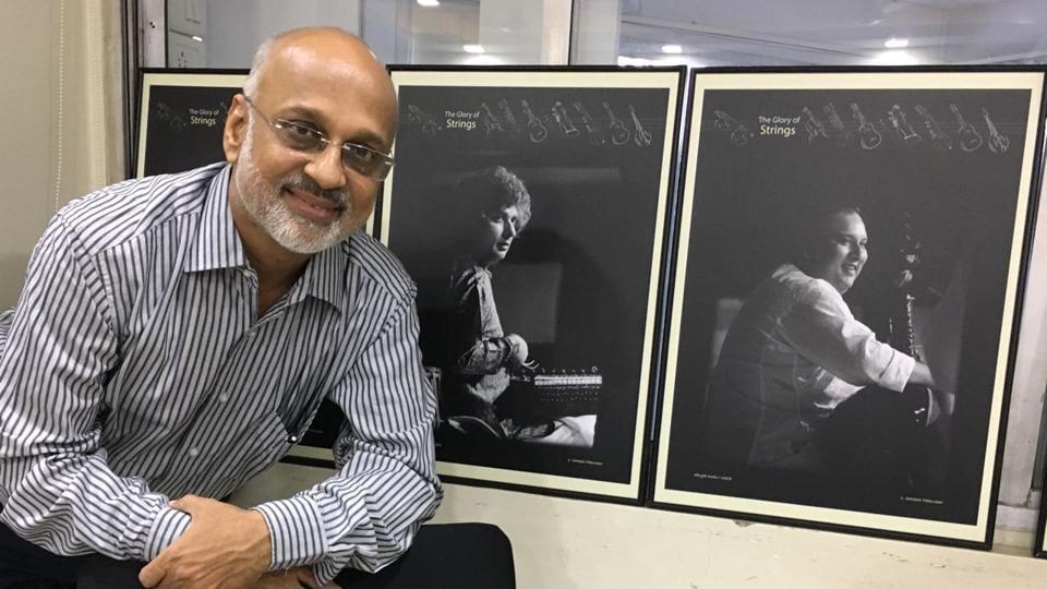 Photographer Sateesh Paknikar will showcase sound of the string instruments through his photographs at the 65th Sawai Gandharva Bhimsen Sangeet Mahostav.
