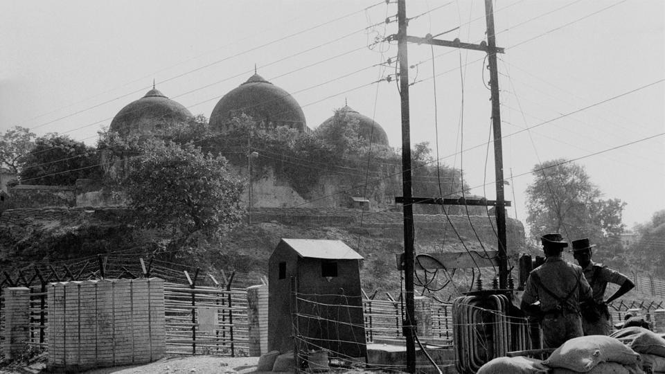 File photo of Babri Masjid in Ayodhya.