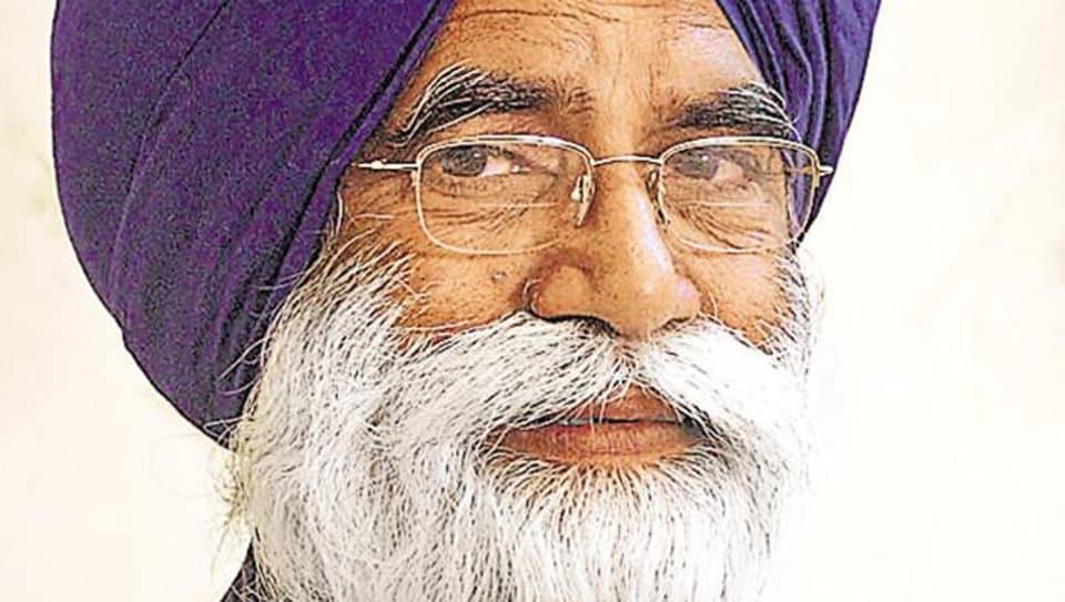 Former Akali minister Sarwan Singh Phillaur(HT File Photo)