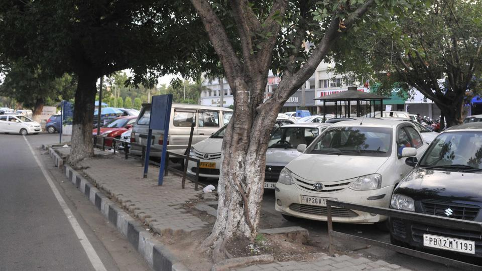 PArking space,Parking space Chandigarh,Chardigarh parking