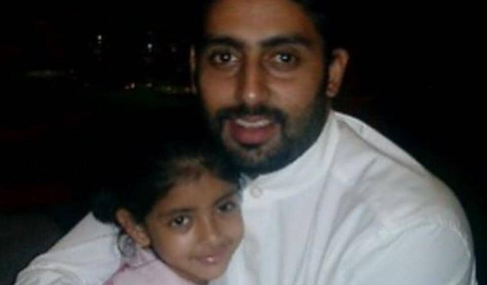 Abhishek Bachchan shares a cute picture with Navya Nanda on her 20th birthday.