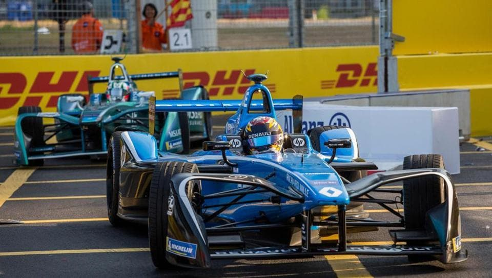 Formula E took place in the streets of Hong Kong last week.