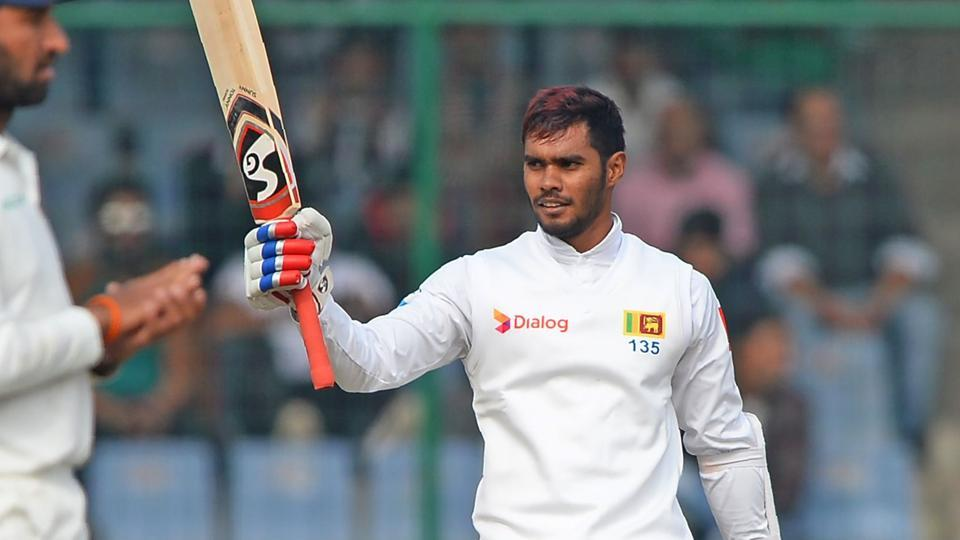 Dhananjaya de Silva produced a magnificent century as Sri Lanka drew the New Delhi Test against India at the Feroz Shah Kotla.