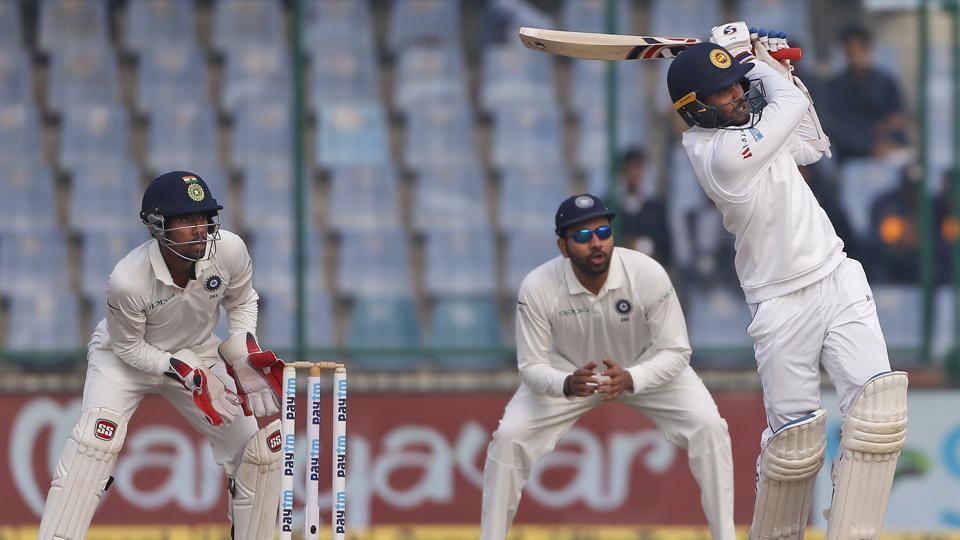 Dhananjaya de Silva's century helped Sri Lanka draw the third and final Test vs India  at the Feroz Shah Kotla. Catch full cricket score of India vs Sri Lanka, 3rd Test, Day 5 here.
