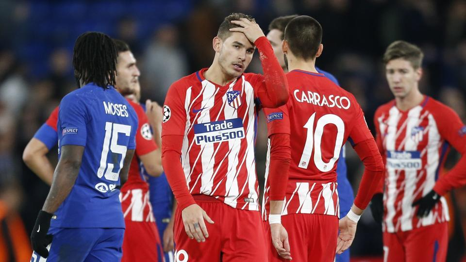 Atletico Madrid Out Of Uefa Champions League After Drawing At Chelsea Football News Hindustan Times