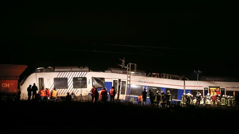 Germany,Train accident,Germany train collission