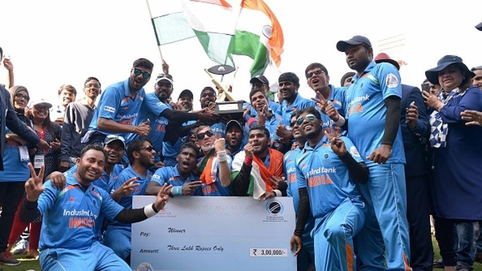 India's participation in the blind cricket World Cup remains uncertain.