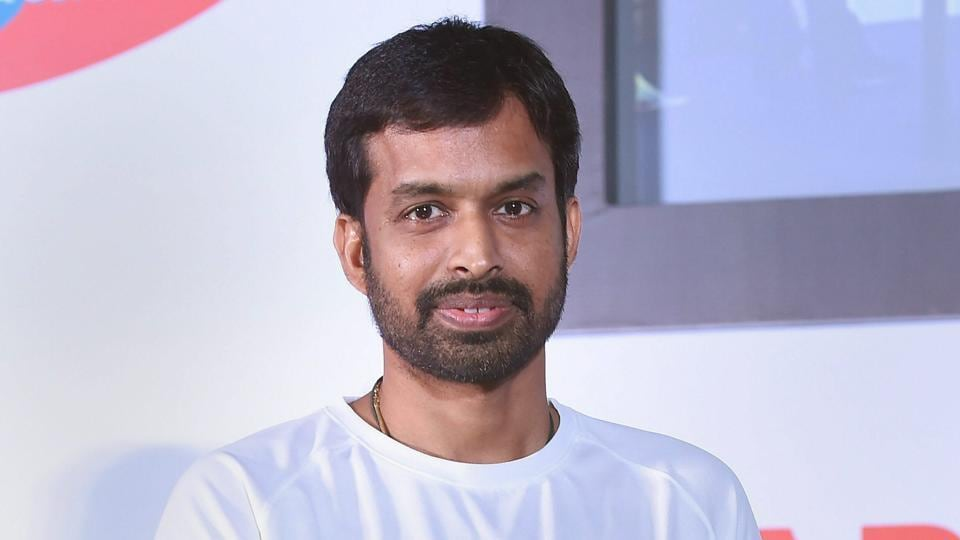 Pullela Gopichand, Indian national badminton chief coach, during a press conference to announce a new talent hunt initiative, in Mumbai on Wednesday.